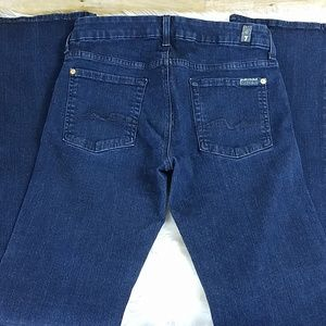 7 for all mankind kimmie bootcut jeans sz 29